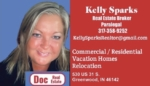 Kelly Sparks Commercial Residential Realtor